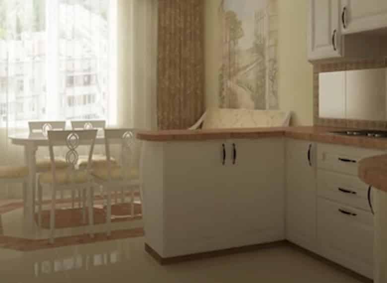 какая плитка на пол на кухню
