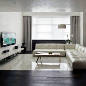Гостиная в стиле минимализм: правила оформления
