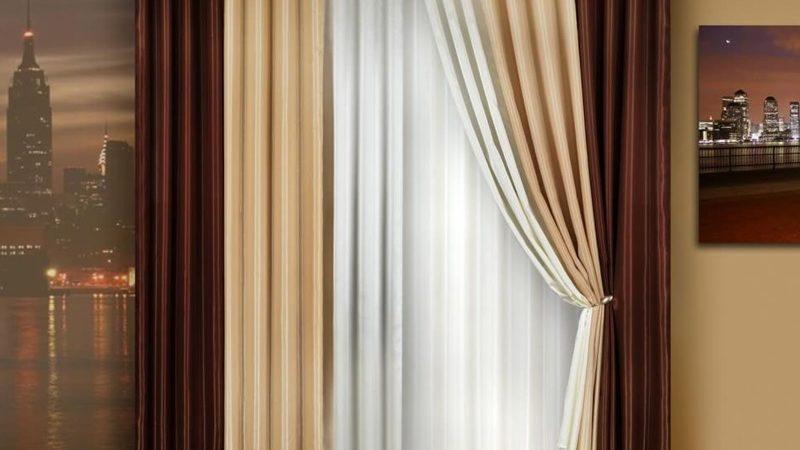 Как правильно подобрать шторы: шторы в современном интерьере