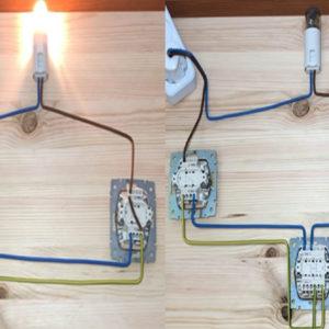 Подключение проходного выключателя, двух и боле в одну цепь