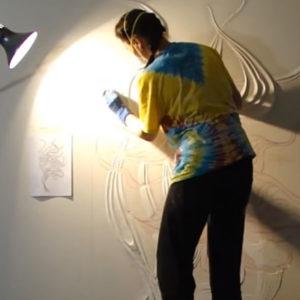 Создаём барельеф на стене своими руками