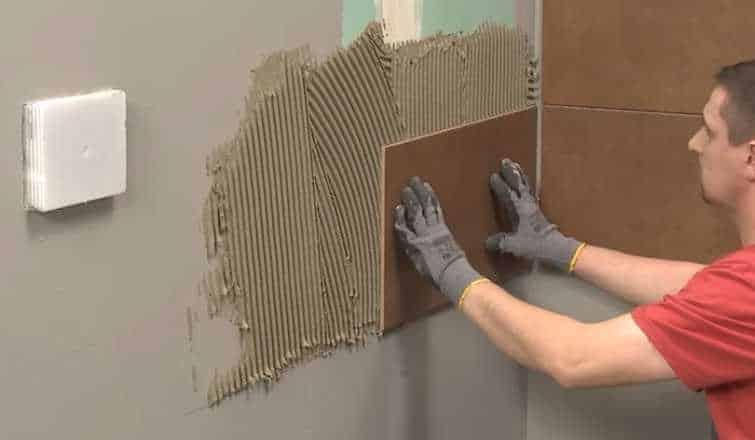 отделка керамической плиткой