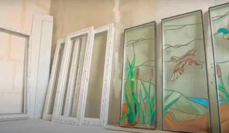 комплектующие окна перед установкой