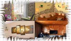 внутренняя декоративная отделка стен