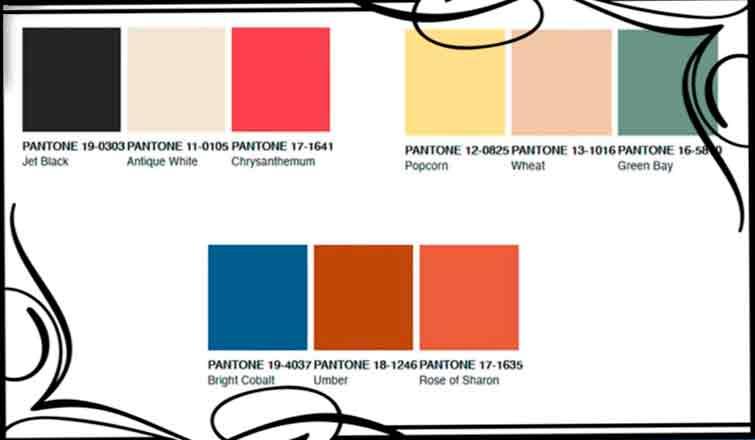 цвет в интерьере 2020