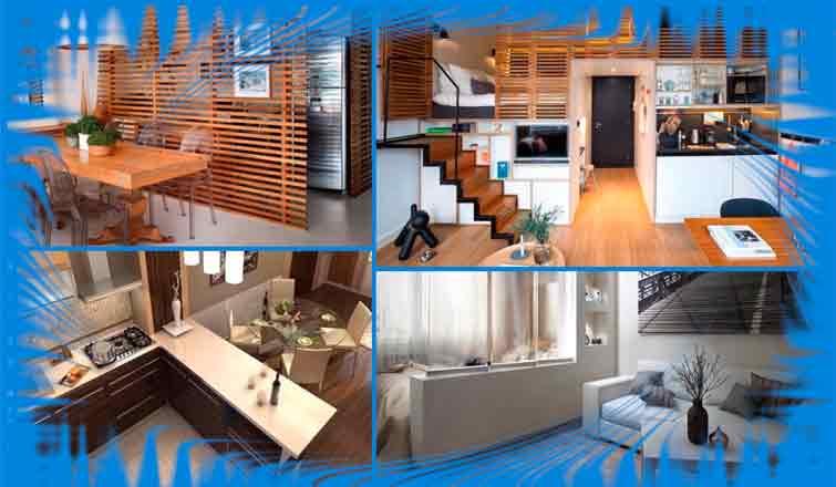 Варианты зонирования комнаты: 4 правила зонирования