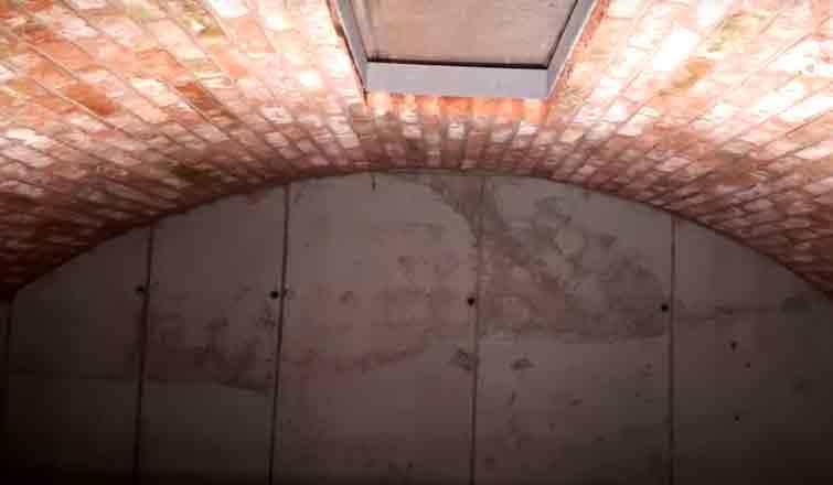 сводчатый потолок