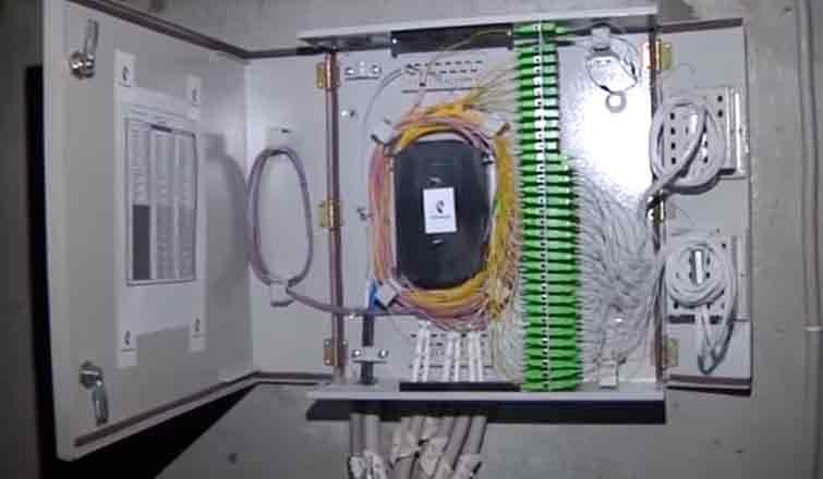 подключение оптоволокна