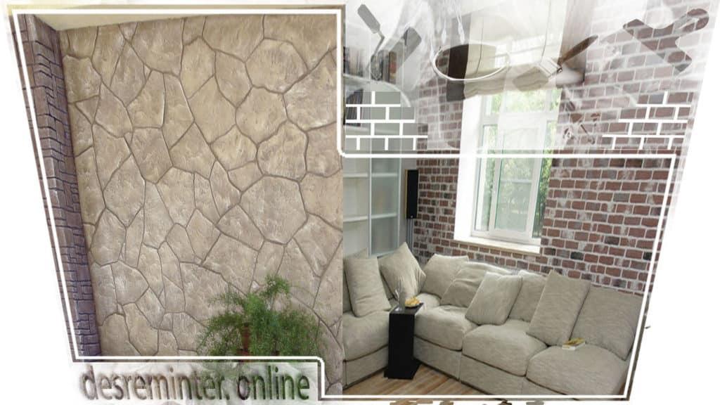 идеи оформления стен камнем