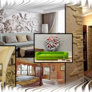 Лучшие идеи оформления стен | Варианты отделки стен с фото