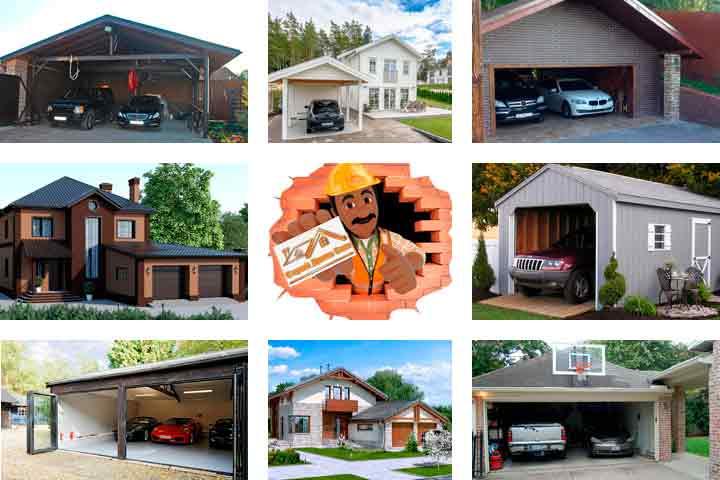 гараж в доме или отдельно что лучше