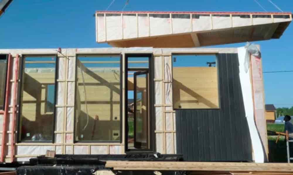 модульный дом для проживания